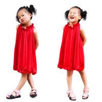 princess party girl dress 3~10age crystal botton solid chiffon brand girls apparel  children's apparel