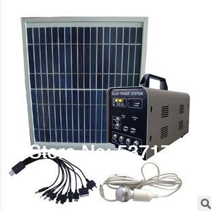Home use solar power system solar generator Mini solar generators 10W polycrystalline silicon solar panels(China (Mainland))