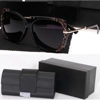 Free Shipping 2014 Hot Fashion Sunglasses women brand designer Multi-Color UV Sun glasses With original box 2750Y