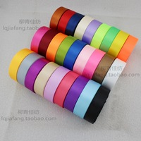 2.5cm ribbon cloth divisa wedding flower wrapping ribbon roll 22 meters roll