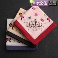 Eall handkerchief women's handkerchief 100 cotton  handkerchief