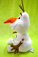 Frozen toys OLAF Snow Man Plush toy Doll Stuffed Toy 30cm,Cartoon Movie Brinquedos dull toys,10 pcs,