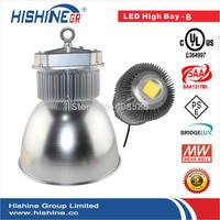 Free Shipping US Safe Standard 150 watt LED UL High Bay Fixture 10pcs per lot Bridgelux chip meanwell driver