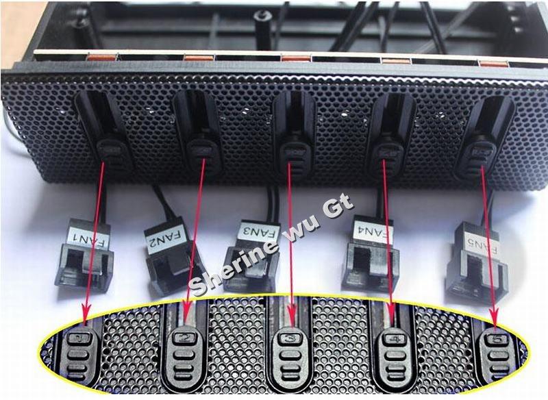 Speed Drive Controller 5.25 Drive Bay Fan Speed