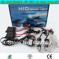 HID conversion Xenon KIT Bi-Xenon Bulb Car Headlamp Light with relay  H4-3,H13-3, 9004-3 12V 55W AC silm ballast