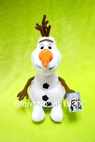 Frozen toys OLAF Snow Man Plush toy Doll Stuffed Toy 46cm,Cartoon Movie Brinquedos dull toys,1 pcs,