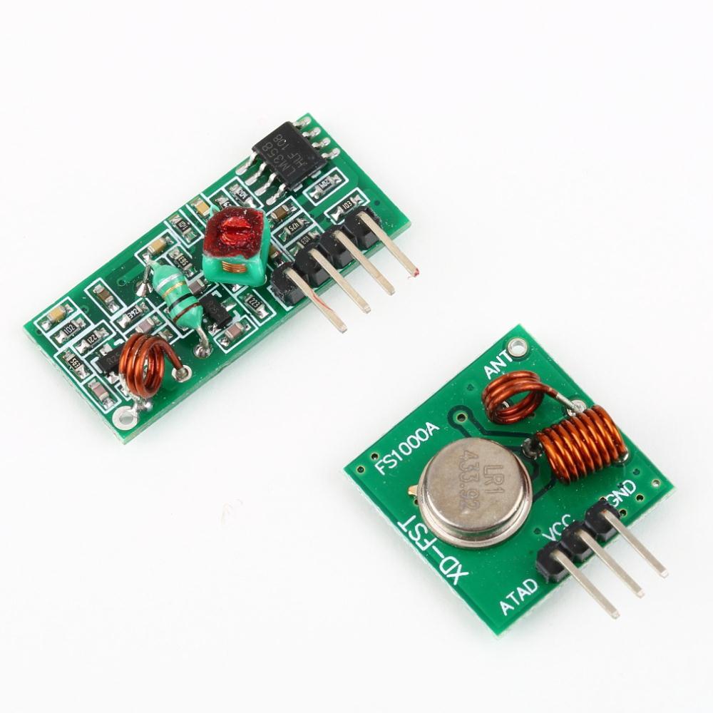 1 pcs rf transmissor e receptor kit link para arduino/braço/mcu remoto con