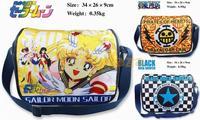 Anime Sailor moon / Trafalgar Law Women Cosplay Shoulder Messenger Bag School bag Children Kids toy Gift  NEW Free Shipping