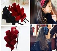 wholesale( >5pcs) -Child hair pin bow headband hair accessory hair accessory