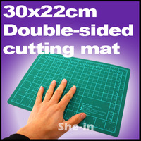 New hot high quality promotion 1 piece A-4 Cutting mat 30x22cm making DIY For Free Shipping T899001