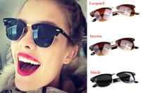 New 2014 Fashion Gafas De Sol Popular Glasses Female Oculos glasses Women Brand Retro Vintage Sunglasses Designer Free Shipping