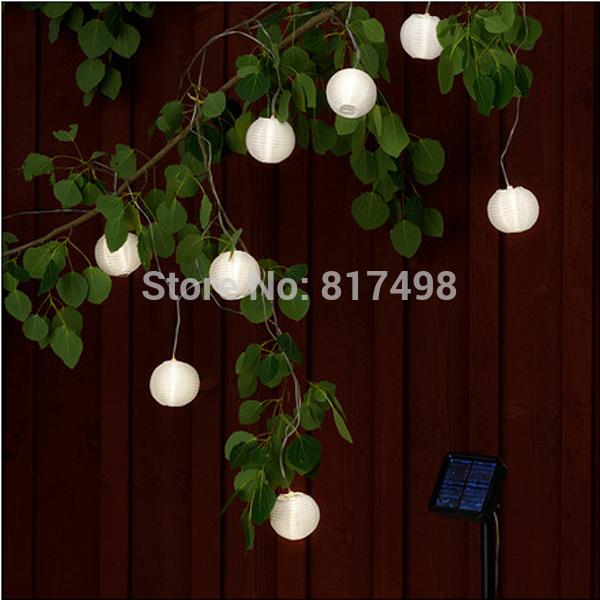 Outdoor String Lights Plastic Bulbs : Waterproof Led Powered Outdoor Garden Party Hanging Plastic Lantern Solar String Lights Lantern ...