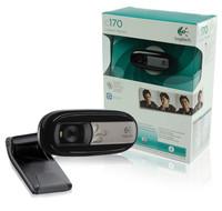 Free Shipping!!LogitechLOGITECH C170 Universal USB Webcam Camera PC & MAC 5MP 960-000880