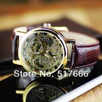 Free shipping Winner mechanical watch unisex watches  mechanical hand wind watch lovers watch