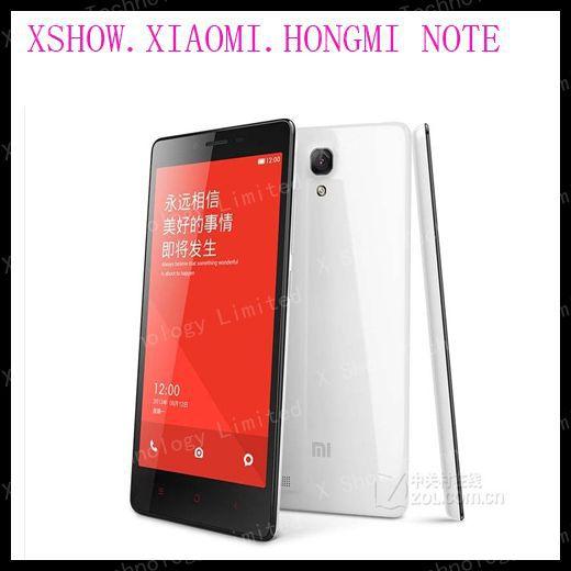 Original 5.5 inch Xiaomi Red Rice Hongmi Note Mobile Phone MTK6592 Octa Core 1/2GB RAM 8GB ROM 3200mah OTG GPS MIUI V5(China (Mainland))