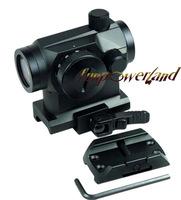 Funpowerland FSI Micro Red Dot Sight With QD Riser Mount, Dual Layers of Glass,4 MOA, 11 Brightness Setting