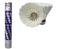 3 tubes=36 pcs Top Quality Rsl badminton Shuttlecocks RSL Silver Duck Feather Shuttlecocks Birdies Badminton Ball 094