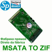 mSATA to  ZIF  adapter ,mini MSATA to ZIF 40pin Card 50mm Mini PCI-E PCI E Express  SSD HDD Adapter ide Converter