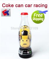 Free Shipping Shen qi wei 8009 1:53 Emluator RC Racing 9cm Coke Can Car