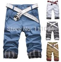 2014 new arrivel spring summer fashion man shorts, large size short for men: 29~35