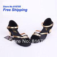 Latin square women's dance shoes dance shoes jazz shoes soft outsole female child dance shoes 303