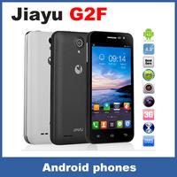 Original JIAYU G2F SmartPhone MTK6582 Quad Core 1.3GHZ With 4.3inch  1GB RAM+4GB ROM 2200mAh TD-SCDMA 3G mobile phone