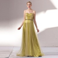 Quality design female long silk evening dress the bride clothing tube top sexy evening dress full dress