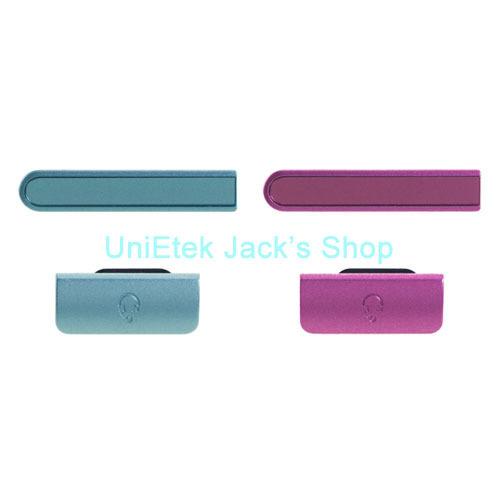 Пылезащитная заглушка для мобильных телефонов Unietek & Sony Xperia ZR M36h USB + защитная пленка для мобильных телефонов hd sony xperia zr m36h