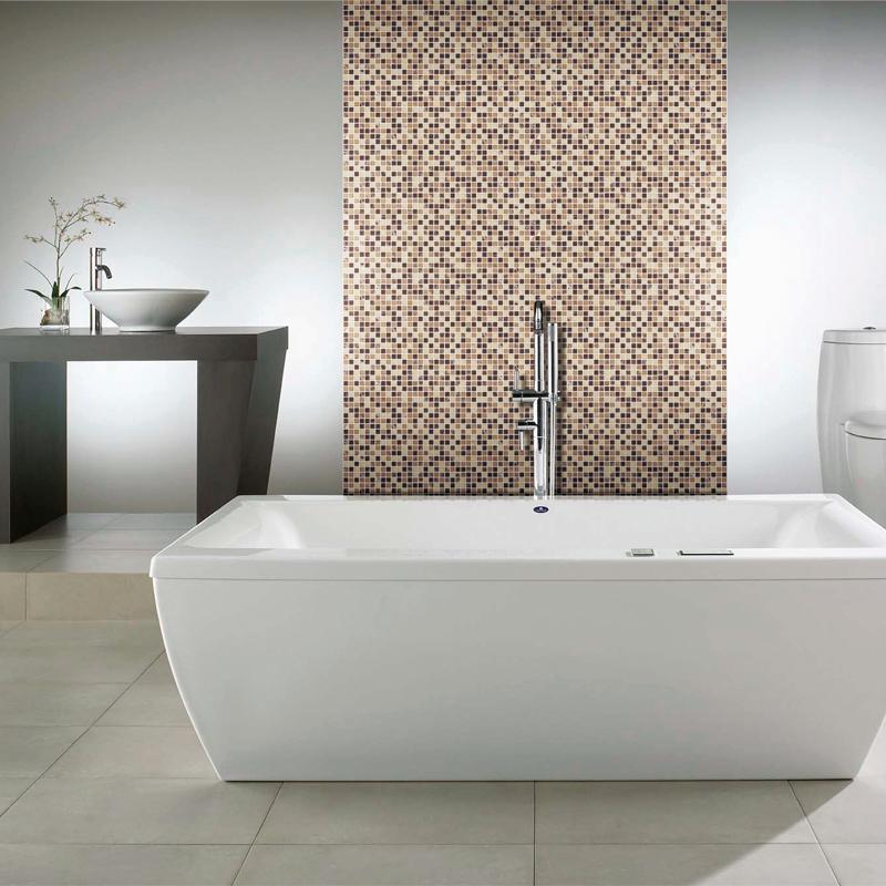 Laminaat badkamer brico home design idee n en meubilair inspiraties - Deco douche tegel ...