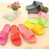 2014 new summer lovers slippers non-slip indoor home slip-resistant bathroom couple shoes eva slipper chaussure femme summer