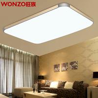 82X65CM 72W LED Ceiling Lights living room bedroom modern minimalist rectangular atmospheric restaurant remote lighting