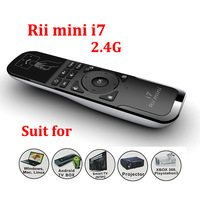 2.4GHz Wireless Game Keyboard Fly Mouse Rii Mini i7 Remote Combo for TV Box Laptop PC Android TV HTPC Brand New Top Quality