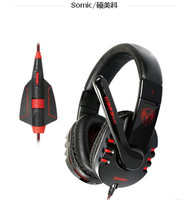 Somic G923PLUS Headband Game Headset wired Electric Voice Updated Version Earphone With Microphone