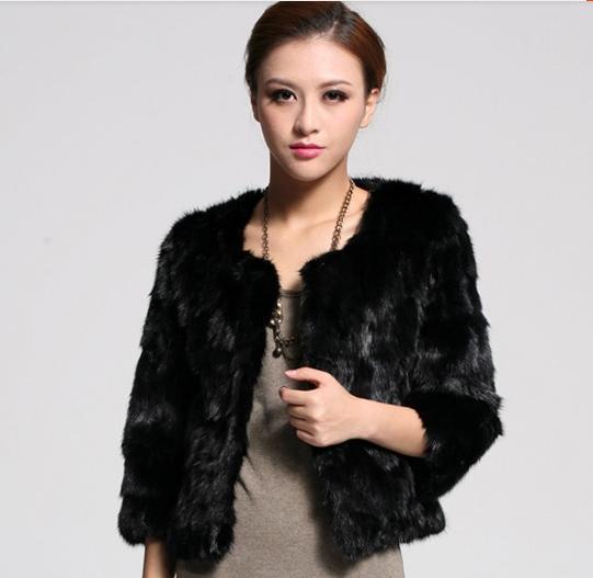 2014 Korean imitation fur coat jacket vest for female mink mink fur coat. Y1P0(China (Mainland))