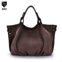 2014 spring and summer handbag tide canvas multi retro portable shoulder diagonal cloth handbags wholesale