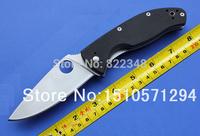 Spyderco knives Custom knives High quality C122GP Tenacious  G10 (Satin) Folding knives Free shipping