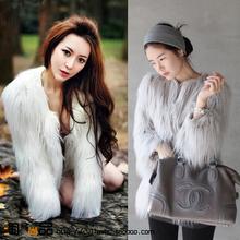 popular artificial fur coat