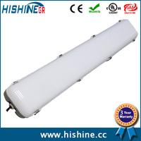 Free shipping!1200mm high luminous 50w PC cover SMD2835 custom tri-proof lighting IP65