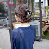 New Designer Fashion Medium Bow Flower Rhinestone Hair Claws Clip Headwear Accessories For Women Girl Jewelry  Free Shipping
