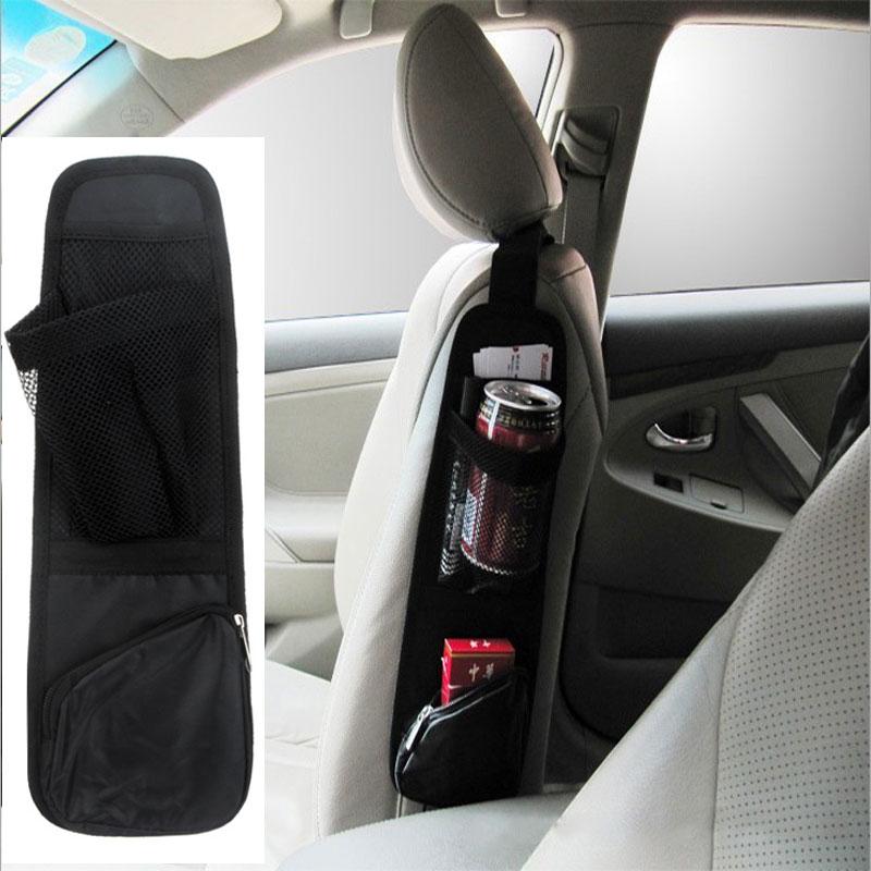 Auto Vehicle Portable Car Storage Box Car Bag Orangizer Bag Seat Side Back Storage Pocket Backseat to keep things Conveniently(China (Mainland))