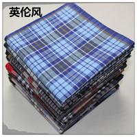 Handkerchief british style 100% general cotton handkerchief super soft handkerchief