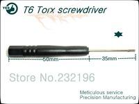 1000pcs/lot phone repair tools T6 Torx screwdriver precision hand tools, fast delivery