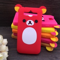 Lovely Cartoon Easy Bear Soft Silicon Back Case Cover For Huawei Honor U8860 Phone Bags Case