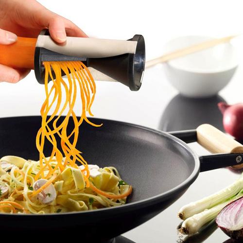 1pc Spirelli Grater Vegetable Spiral Slicer, Easy Spiral Vegetable & Fruit Slicer Twister World Cuisine Vegetable Cutter(China (Mainland))