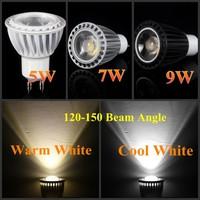 10X COB LED 5w 7w 9w GU10/E27 AC110V 220V Cool/Warm white bulb light Spotlight indoor lighting