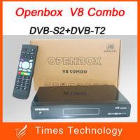 Openbox V8 Combo Satellite Receiver DVB-S2+DVB-T2 Support Cccamd Newcamd Youtube Youporn Google Map USB Wifi DLNA Post