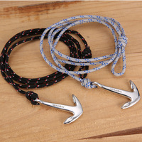 new in 2014 bracelets for lovers Stone lovers bracelet anchor miansai hand-rope handmade personalized