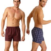 2014 real mens underwear boxers cueca brand 4 pieces/lot 100% cotton big men's underwear shorts men boxers trunks free shipping