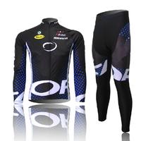 New Bicycle Cciclismo Bicicletas MTB Sportswear Clothing Set Mountain Bike Long Sleeve Cycling Bib Pants Cycle Jersey 2014