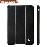 Jisoncase brand hot sale popular design for ipad mini retina case smart case for ipad mini2 tablet cover with iOS 7 micro fiber
